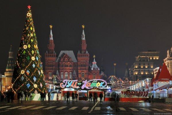 Московские новогодние каникулы 3 дня