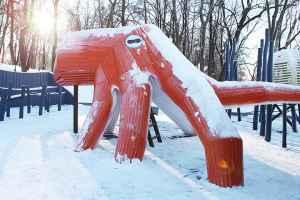 Новогодние каникулы снежный дракон